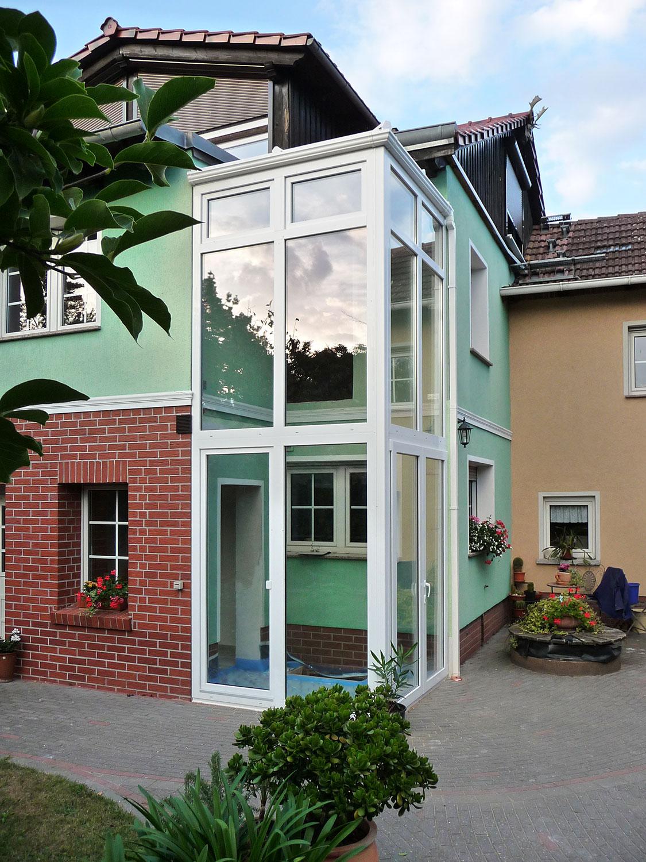 Hauseingang Höhne (Birkner Wintergärten)