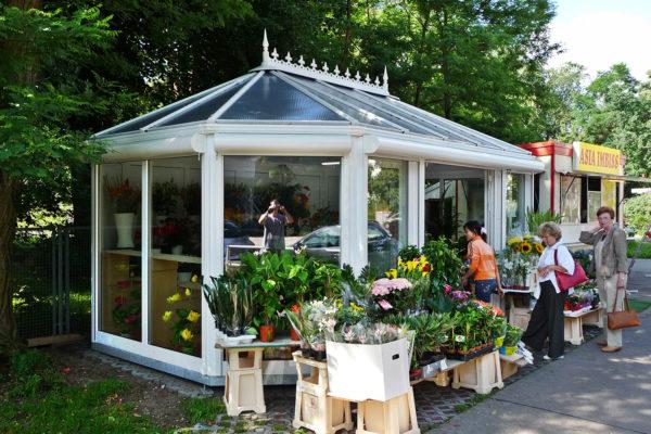 Blumenpavillon 1