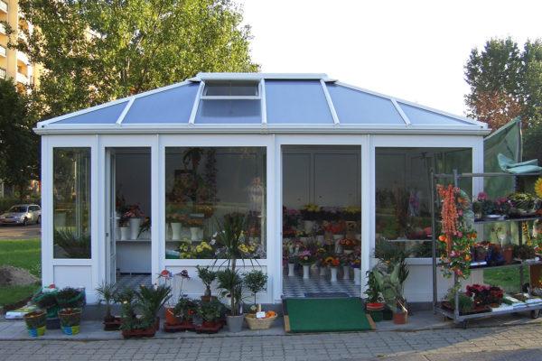 Blumenpavillon 2