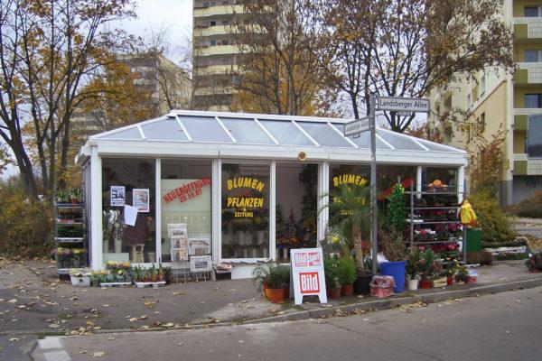 Blumenpavillon Landsberger Allee