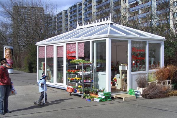 Blumenpavillon 3