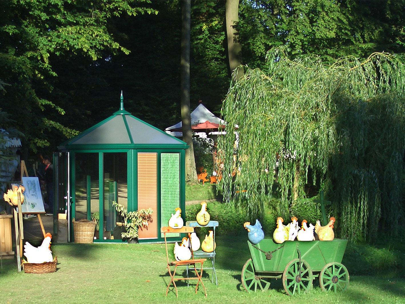Pavillon (Gartenausstellung) . Birkner Wintergärten (Foto: Birkner)