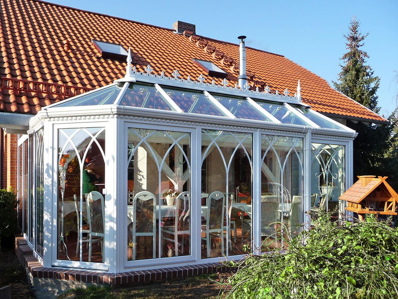 Englischer Wintergarten in Beeskow . Birkner Wintergärten (Foto: Birkner)